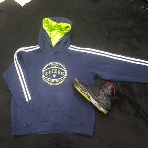 Adidas Basketball Hoodie Boys M